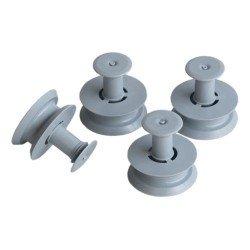 Roulettes de panier pour lave-vaisselle Whirlpool