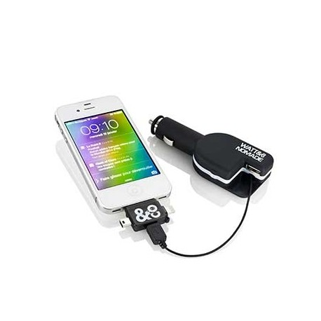 Chargeur iPhone de voiture