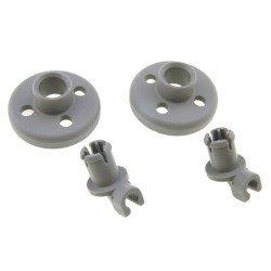 Roulettes de panier pour lave-vaisselle Bosch
