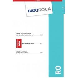 Catalogue des pièces pour appareils de chauffage BAXIROCCA