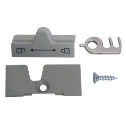 Fermeture de porte gris pour réfrigérateur Dometic