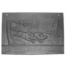 Plaque de foyer pour chauffage à bois Deville