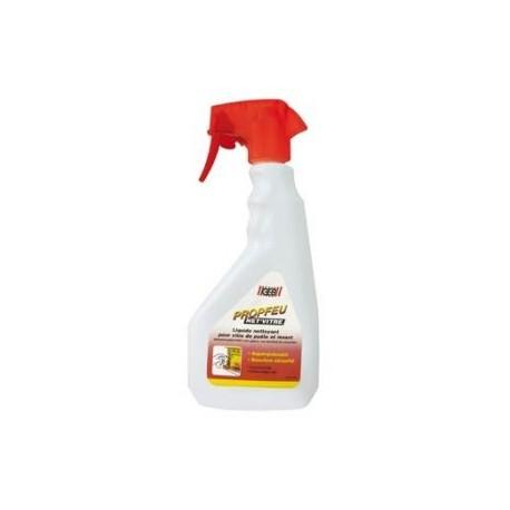 Liquide de nettoyage pour vitres d'inserts et de poêles