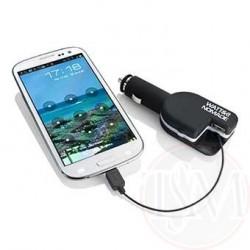 Chargeur voiture micro USB-USB pour Iphone 4 et 5