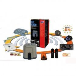 Motorisation Wi-Fi pour portail coulissant lourd jusqu'à 500 kg - Kit K500 Wi-FI