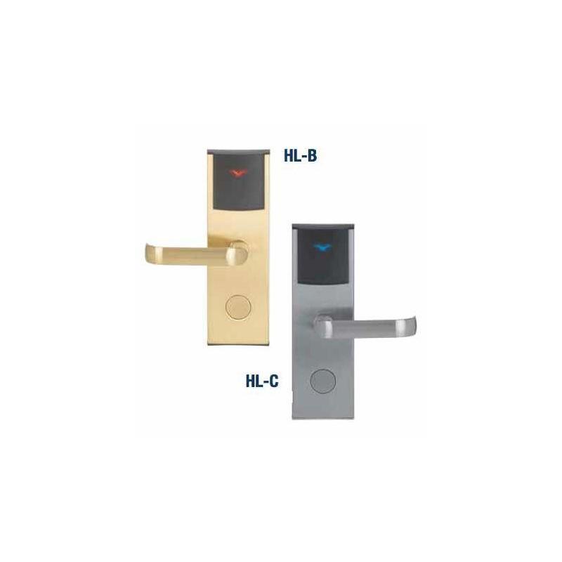 serrure lectronique sans contact finition laiton satin. Black Bedroom Furniture Sets. Home Design Ideas