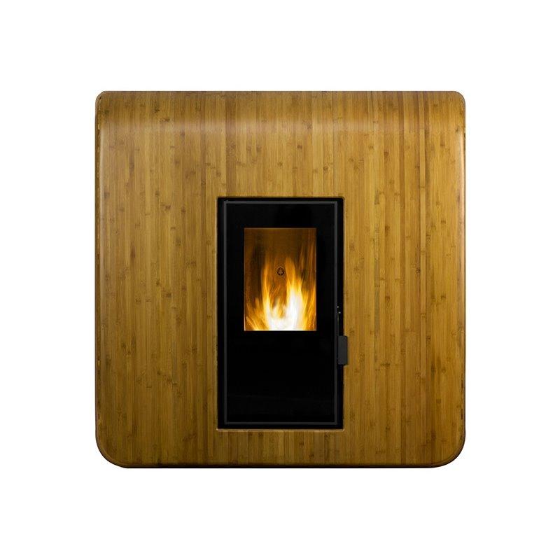foyer granul s de bois 14 kw. Black Bedroom Furniture Sets. Home Design Ideas