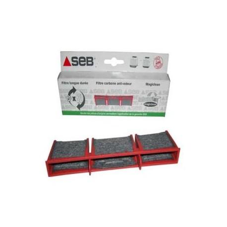 Seb 983863 Filtre Carbone pour Friteuse Ol/éoclean Visioclean