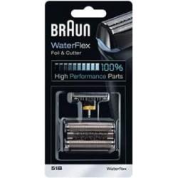 Grille avec couteau pour rasoir Braun