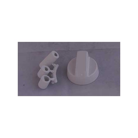 Manette universelle blanche
