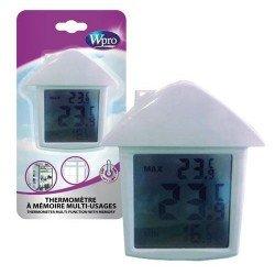 Thermomètre à mémoire multi-usages