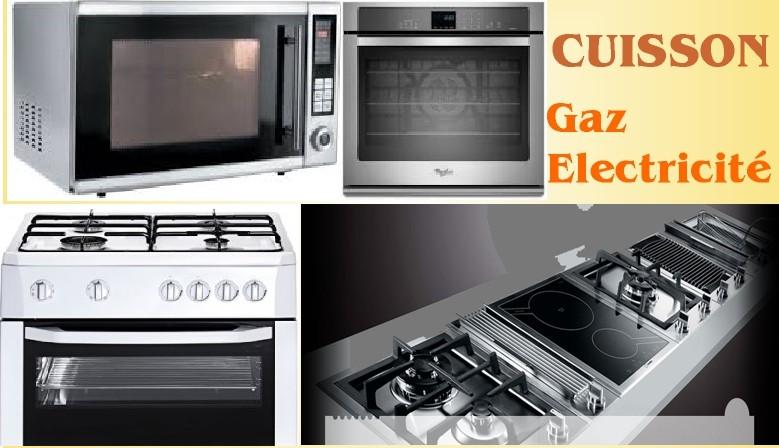 Cuisson Gaz et electricité