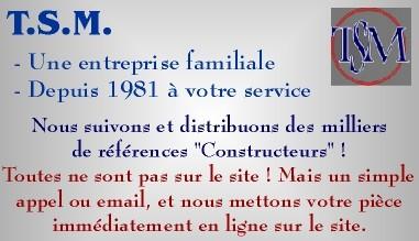 TSM - Pièces détachées et accessoires électroménager depuis 1981